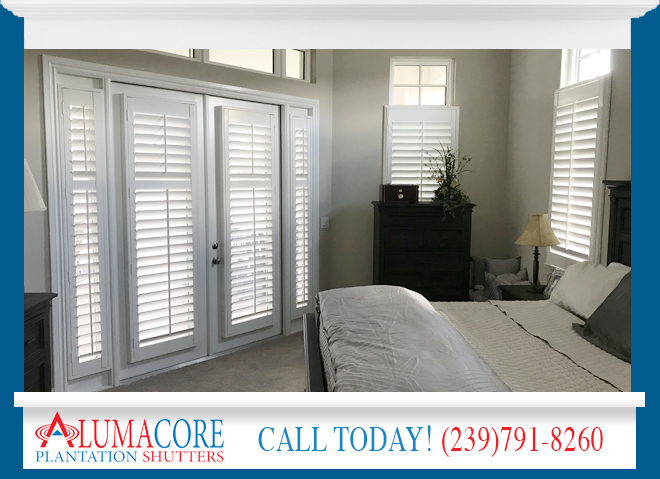 Cafe Shutters in and near Cape Coral Florida