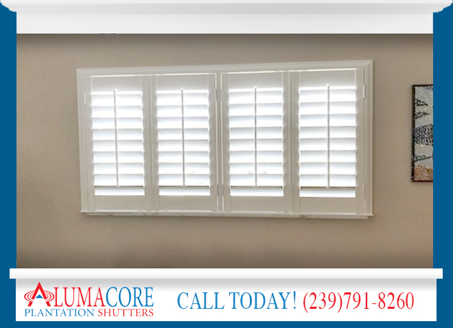 Faux Wood Shutters in Florida