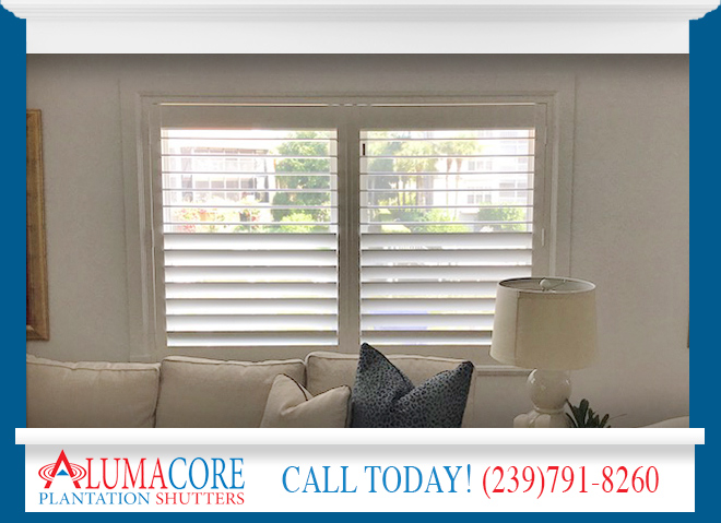 California Shutters in and near Fort Myers Florida