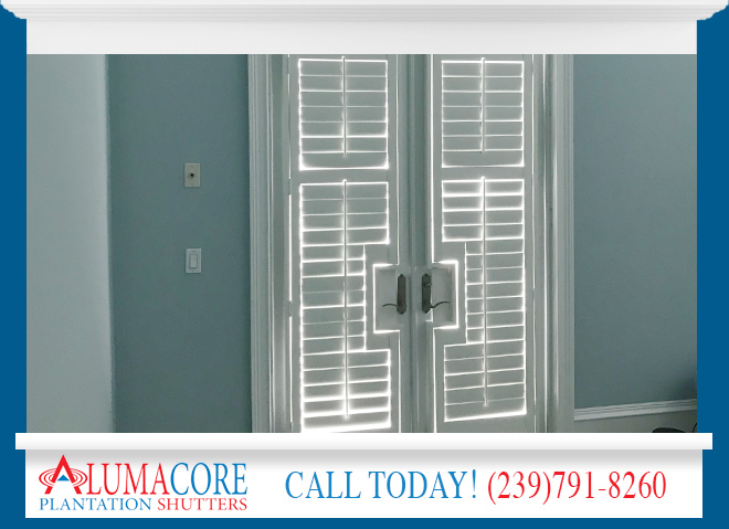 French Door Shutters in and near Fort Myers Florida