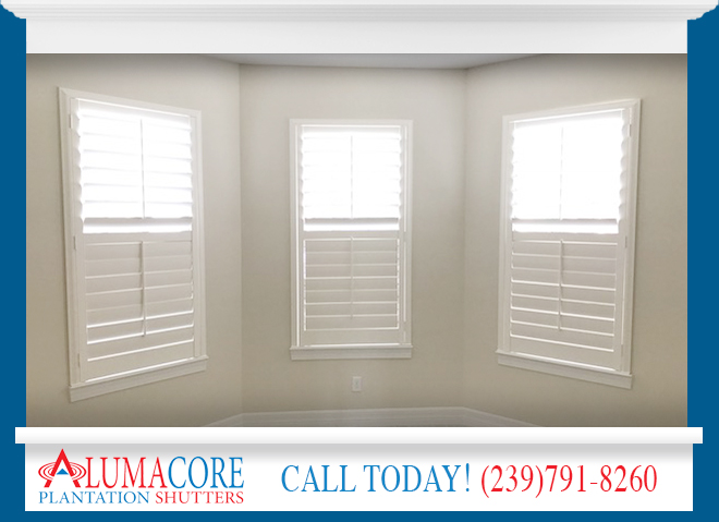 Baked On Finish Shutters in and near North Fort Myers Florida