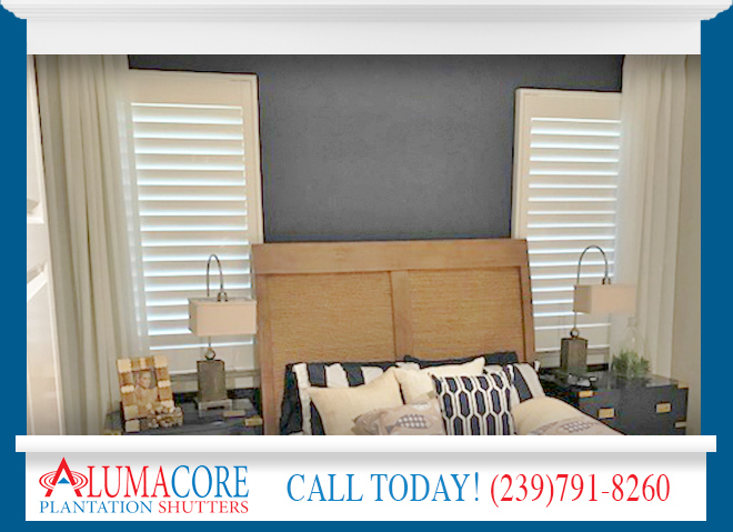 Interior Shutters in and near North Fort Myers Florida