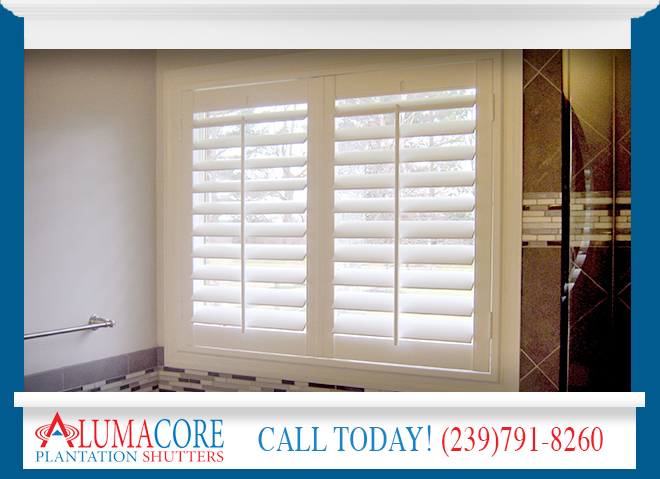 PVC Shutters in and near North Fort Myers Florida