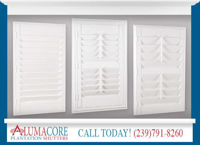 Shutter Frames in and near North Fort Myers Florida