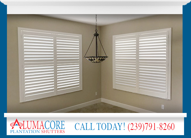 Window Shutters in and near North Fort Myers Florida