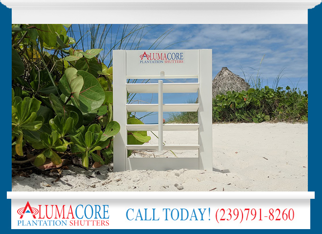 Shutters Manufactured in Florida Available in and near Venice Florida